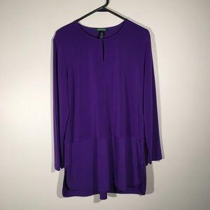 Ralph Lauren purple tunic